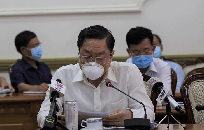 Giám đốc Sở Y tế TP.HCM Nguyễn Tấn Bỉnh.