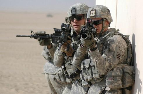 Khoảng 2.700 binh sĩ Mỹ bị mắc kẹt ở Kuwait do ảnh hưởng của dịch Covid-19. (Ảnh: Sputnik)
