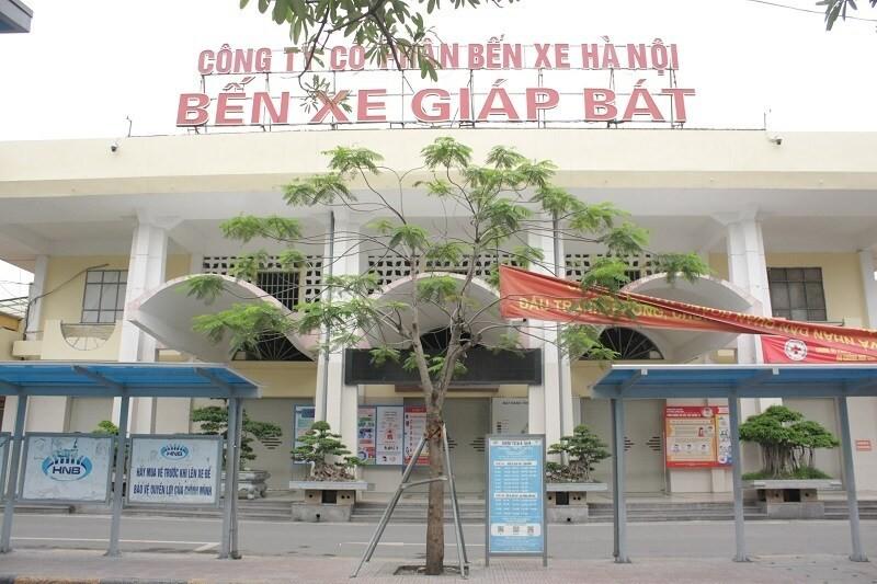 Bến xe Giáp Bát tạm thời dừng hoạt động từ ngày 1/4. Ảnh: VGP/Phan Trang