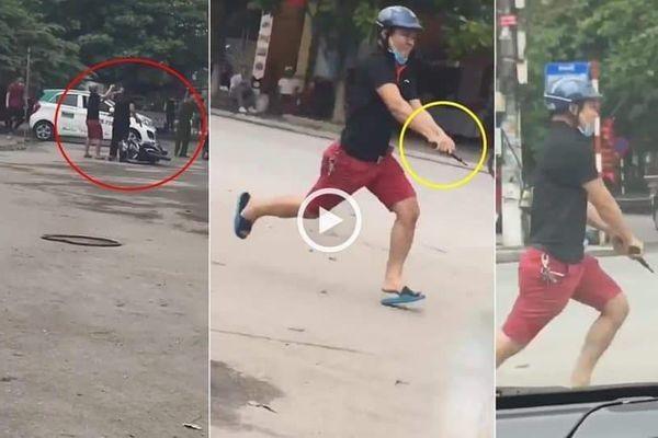 Hình ảnh cảnh sát hình sự nổ súng khống chế các đối tượng