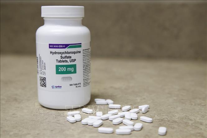 Thuốc Hydroxychloroquine. Ảnh: AFP/TTXVN