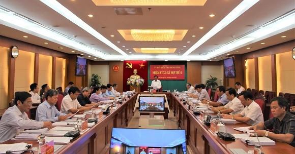 Ủy ban Kiểm tra Trung ương họp kỳ thứ 45.