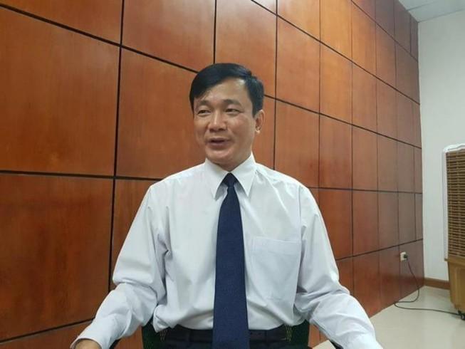 Ông Lê Vinh Danh - Hiệu trưởng Trường Đại học Tôn Đức Thắng bị tạm đình chỉ công tác. Ảnh: PLO.VN