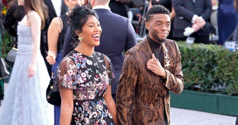 Chadwick Boseman bí mật kết hôn với bạn gái lâu năm Taylor Simone Ledward.