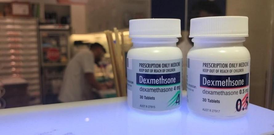Cơ quan y tế Australia đề nghị sử dụng dexamethasone để điều trị bệnh nhân mắc Covid-19 nghiêm trọng. Ảnh The Conversation.