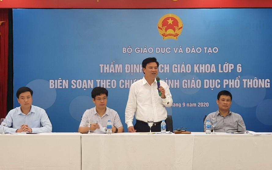 Thứ trưởng Nguyễn Hữu Độ phát biểu tại chương trình