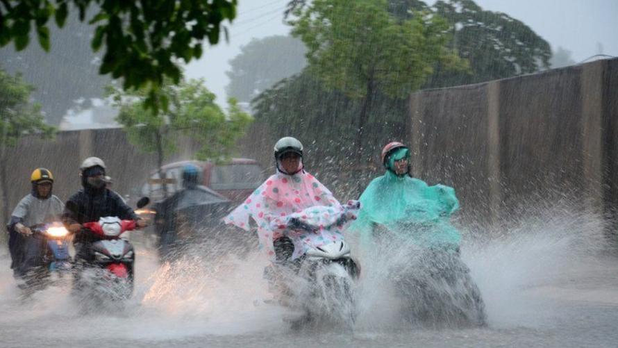 Thời tiết 8/9: Bắc Bộ có mưa to vào sáng sớm và đêm