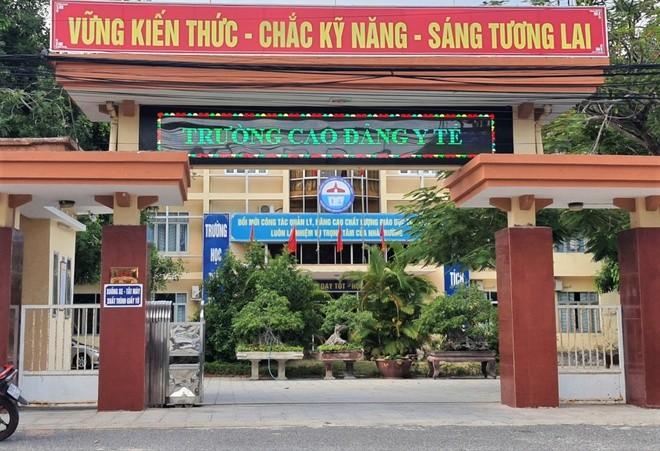Trường Cao đẳng Y tế tỉnh Quảng Bình. Ảnh: N.T.