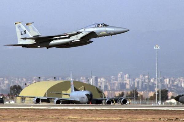 Mỹ có sẵn phương án di dời khỏi căn cứ không quân Incirlik ở Thổ Nhĩ Kỳ. (Ảnh: AP)