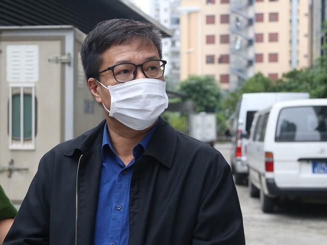 Bị cáo Ngô Duy Chính, cựu giám đốc BIDV Chi nhánh Hà Thành. Ảnh: TUYẾN PHAN