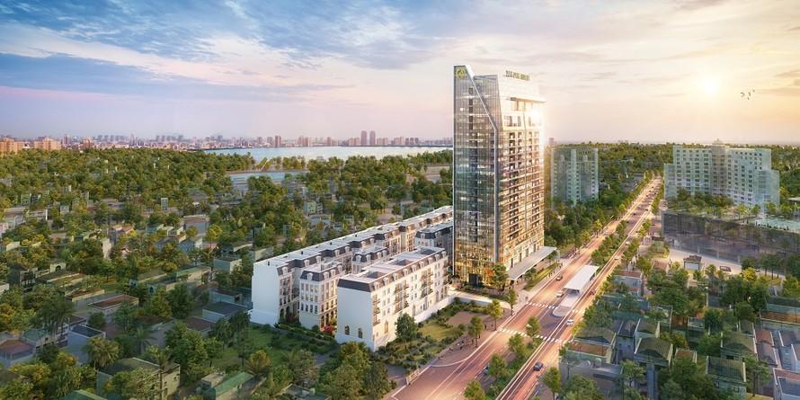Dự án Grandeur Palace - Giảng Võ của chủ đầu tư Văn Phú - Invest