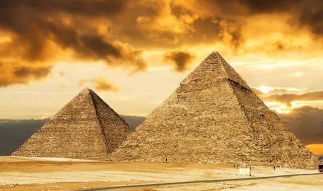 Lăng mộ của thầy pháp Wahtye được đặt gần những kim tự tháp cổ đại (ảnh: Express)