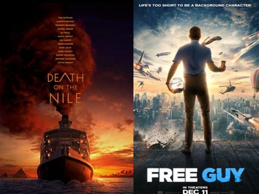 """2 bộ phim """"Án mạng trên sông Nile"""" và """"Free Guy"""" sẽ không ra rạp như dự kiến."""
