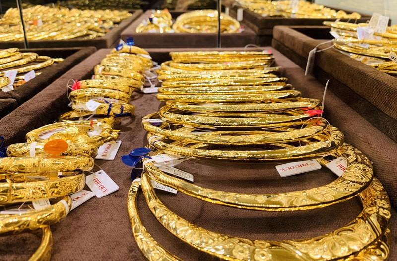 Giá vàng duy trì ổn định ở mức cao