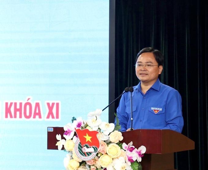 Ông Nguyễn Anh Tuấn, Bí thư thứ nhất Trung ương Đoàn Thanh niên Cộng sản Hồ Chí Minh - Thành viên Hội đồng Thi đua - Khen thưởng Trung ương