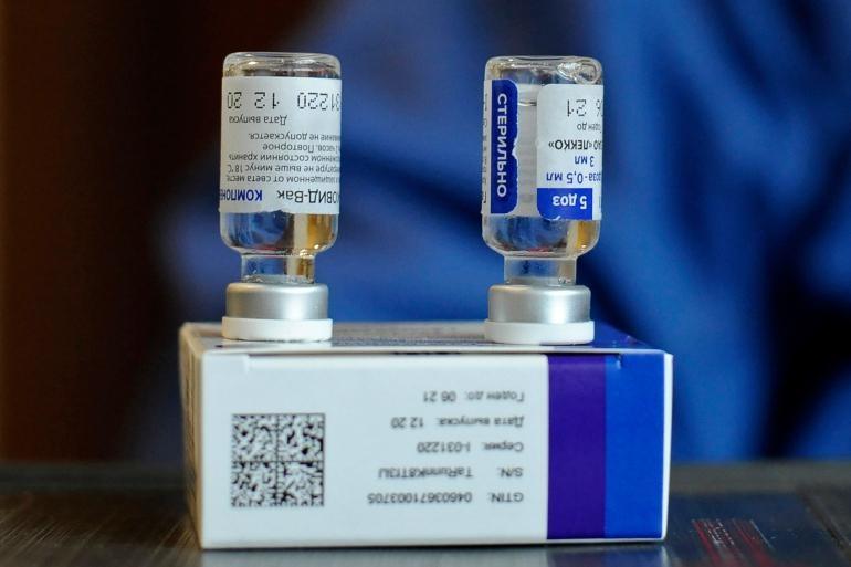 Lô hàng vaccine Sputnik V đầu tiên dự kiến được chuyển tới Iran vào ngày 4/2. Ảnh: AFP
