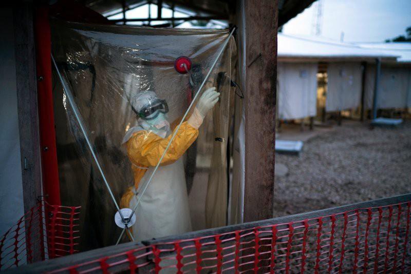 CHDC Congo phát hiện một ca nhiễm Ebola mới. Ảnh: Jerome Delay/AP