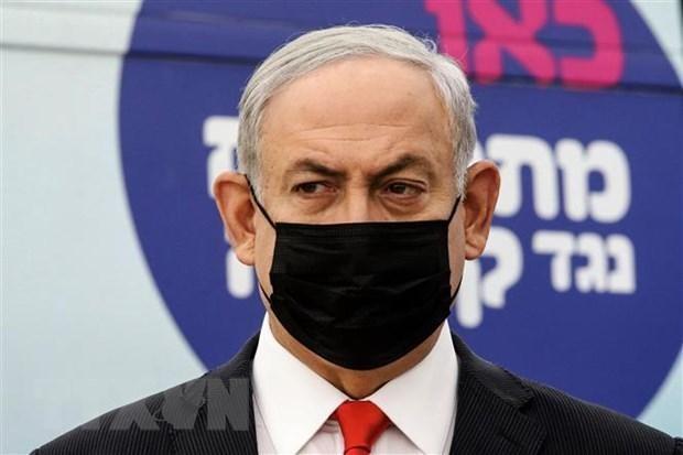 Thủ tướng Israel Benjamin Netanyahu tại một sự kiện ở thành phố Tel Aviv. (Ảnh: AFP/TTXVN)