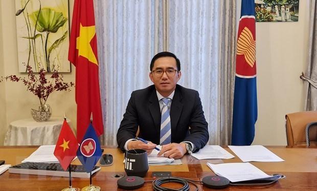 Tân Phó Tổng Thư ký ASEAN Trần Đức Bình. Ảnh: TTXVN