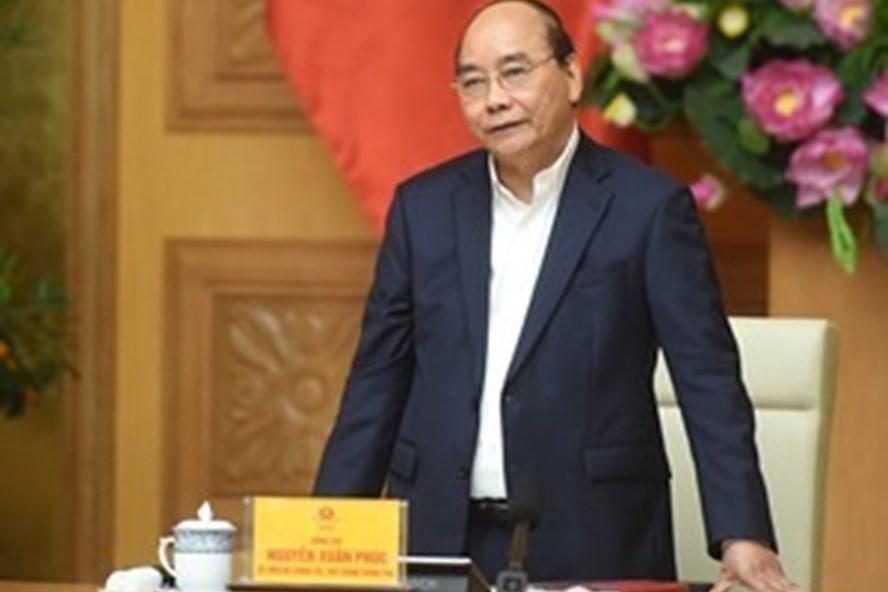 Thủ tướng Chính phủ Nguyễn Xuân Phúc. Ảnh: Quang Hiếu