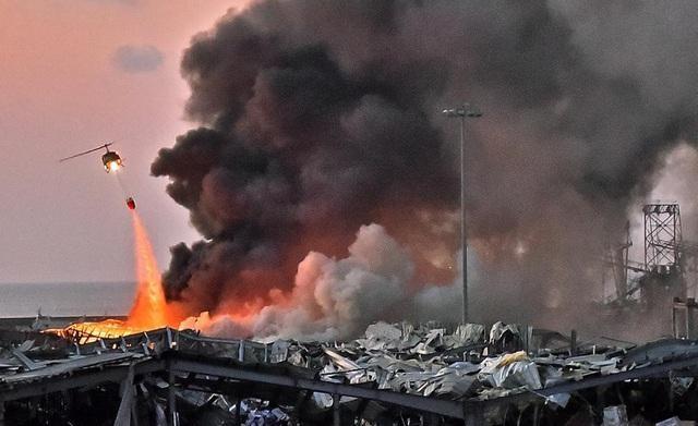 Tầng điện li của Trái đất bị xáo trộn sau vụ nổ thảm khốc ở Beirut