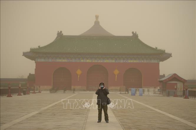 Bắc Kinh lại 'chìm' trong bão cát