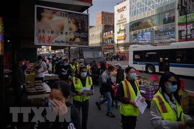 Mỹ: Tuần hành phản đối tình trạng bạo lực nhằm vào người gốc Á