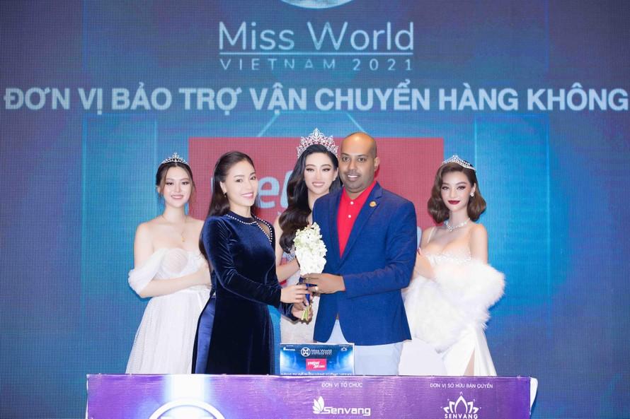 Vietjet bảo trợ vận chuyển hàng không cho cuộc thi Miss World Vietnam 2021