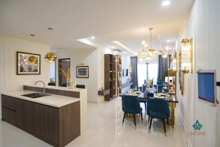 Căn hộ mẫu dự án Bien Hoa Universe Complex do Công ty Cổ phần Hưng Thịnh Land phát triển tại TP Biên Hòa, Đồng Nai