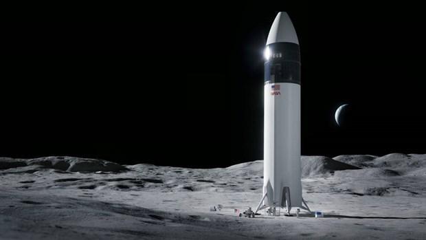 NASA chọn SpaceX để phát triển tàu vũ trụ đưa người lên Mặt Trăng