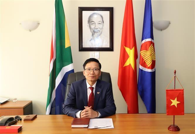Ảnh: Phi Hùng - Pv TTXVN Nam Phi