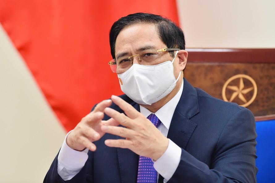 Thủ tướng Chính phủ Phạm Minh Chính - Ảnh: VGP/Nhật Bắc
