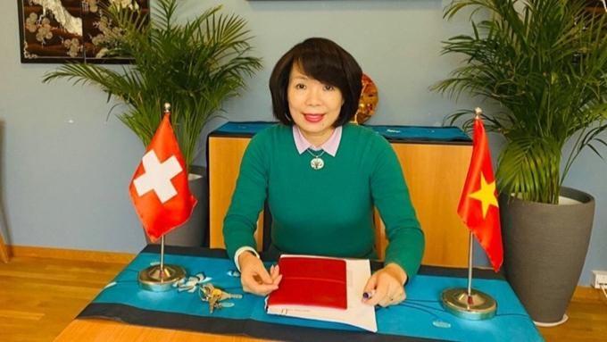 Đại sứ Lê Linh Lan. Ảnh: ĐSQ Việt Nam tại Thụy Sỹ