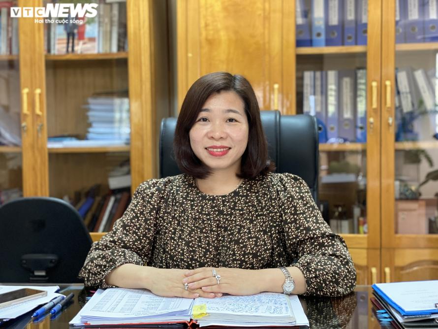 PGS.TS Nguyễn Thị Trường Giang, Phó giám đốc Học viện Báo chí và Tuyên truyền. Ảnh: VTC