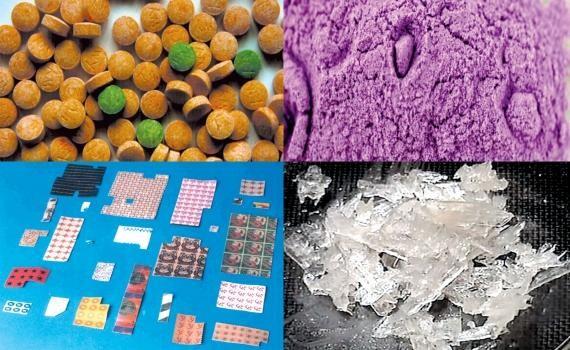 Các loại ma túy mới xuất hiện ngày càng nhiều, giá rẻ, dễ cất giấu khiến lực lượng chức năng khó kiểm soát. Ảnh minh họa