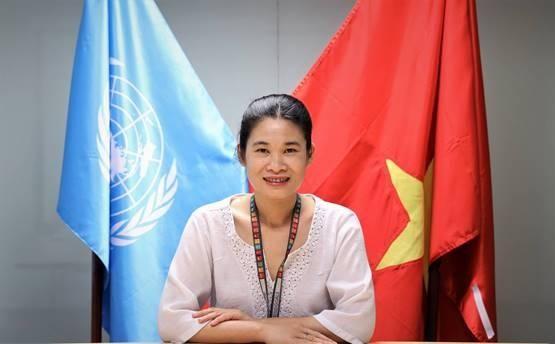 Bà Nguyễn Nguyệt Minh, Phụ trách Văn phòng UNODC tại Việt Nam. Ảnh: VGP/Hoàng Giang