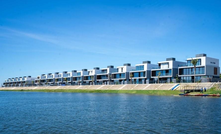Nhà ở ven sông, cận sông được ưa chuộng bởi tiềm năng tăng giá vô cùng lớn trong tương lai. Ảnh: Dự án Regal One River.
