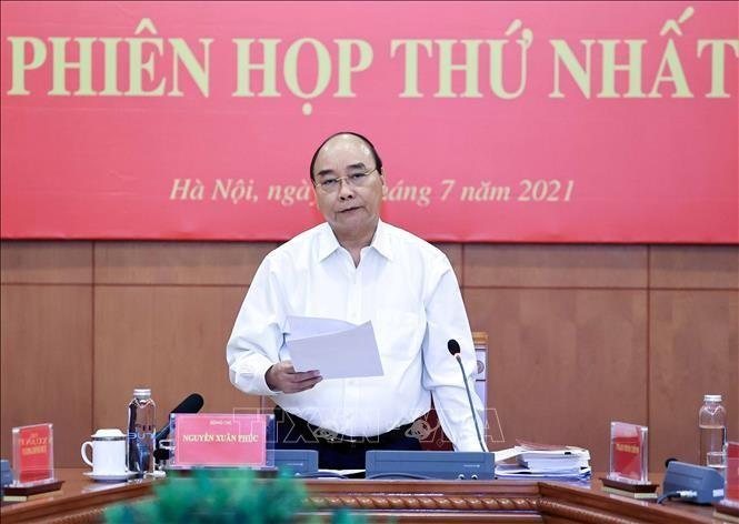 Chủ tịch nước Nguyễn Xuân Phúc. Ảnh: Thống Nhất/TTXVN