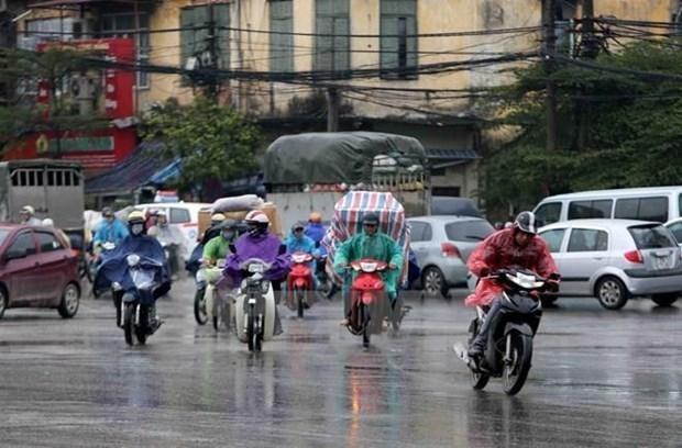 Tây Nguyên và Nam Bộ có mưa dông rải rác