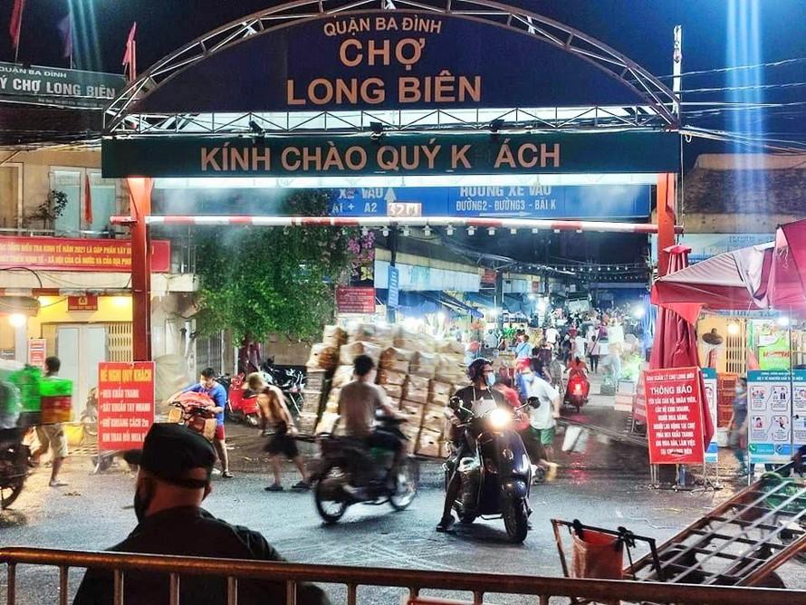 Hà Nội: Tìm người từng đến ngõ 187 đường Hồng Hà và chợ Long Biên