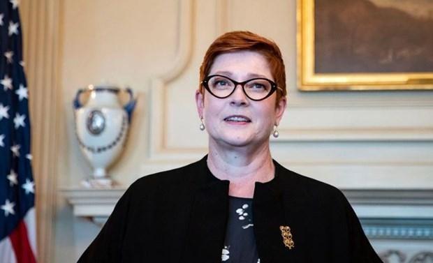Bộ trưởng Ngoại giao Australia Marise Payne. (Nguồn: Reuters)