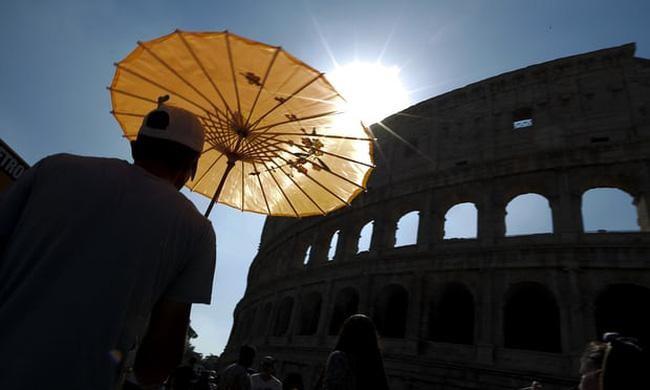 Biến đổi khí hậu - Nguyên nhân gây nắng nóng kỷ lục tại Italy