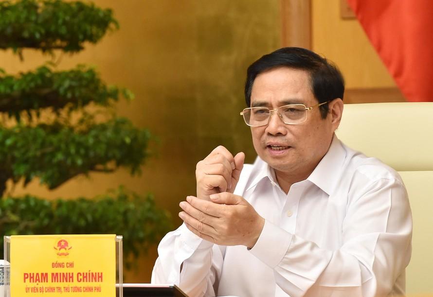 Thủ tướng Phạm Minh Chính: 312 xã phường tại TP Hồ Chí Minh là 312 pháo đài phòng chống dịch - Ảnh: VGP/Nhật Bắc