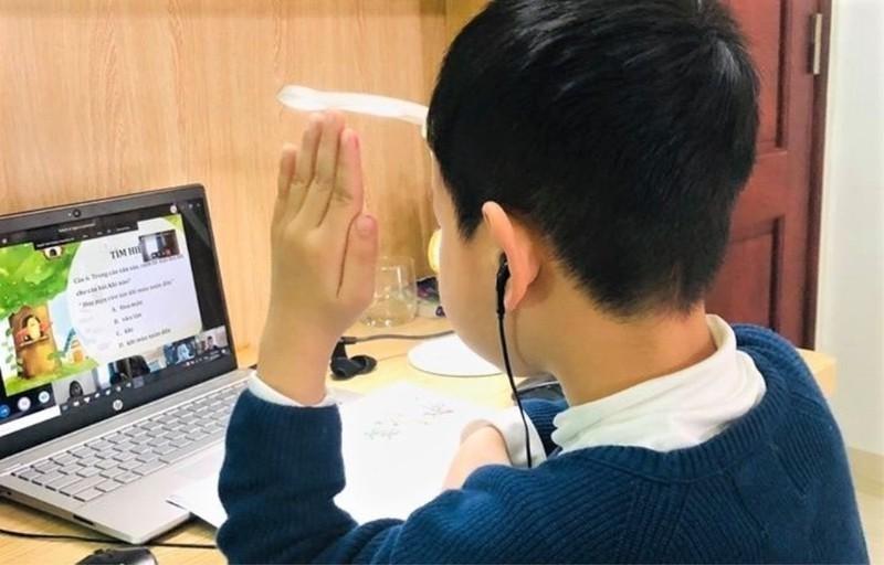 Học sinh lớp 1 của Hà Nội học trực tuyến từ ngày 13/9