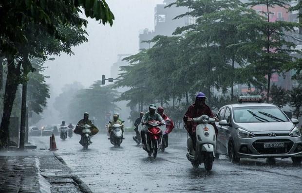 Nhiều khu vực có mưa và dông