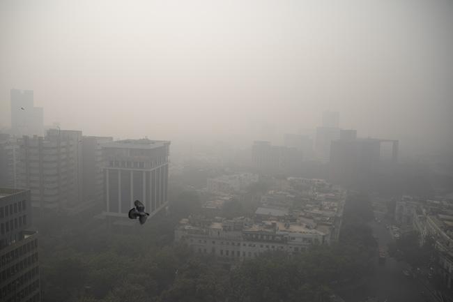 Ô nhiễm không khí có thể làm giảm hơn 9 năm tuổi thọ của 40% người Ấn Độ
