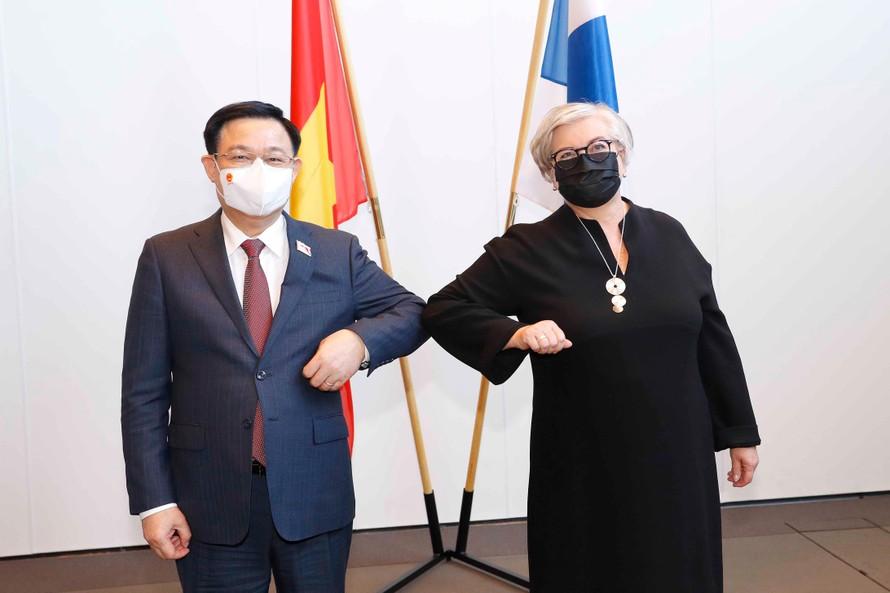 Làm sâu sắc hơn mối quan hệ hữu nghị, hợp tác nhiều mặt Việt Nam-Phần Lan