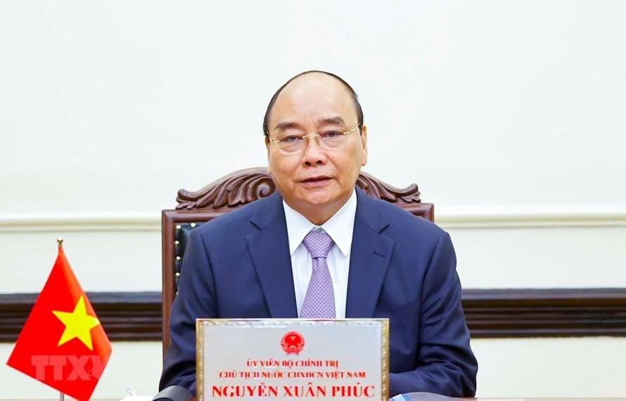 Chủ tịch nước Nguyễn Xuân Phúc gửi Thư đến cử tri Thành phố Hồ Chí Minh