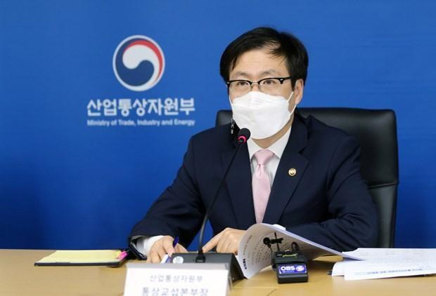 Bộ trưởng Thương mại Hàn Quốc Yeo Han-koo. (Nguồn: koreaherald.com)