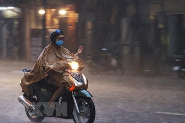 Nhiều khu vực mưa dông, đề phòng thời tiết nguy hiểm